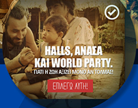 Halls World Party!