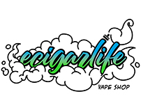"Logotipo ""Ecigarlife Vape Shop"""