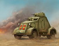 UNL-35 armoured wheeled car