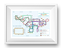 Mapa Autobuses Alcoy