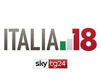 Election Coverage TG24 - ITALIA 18