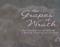 The Grapes of Wrath Book Anniversary Poster