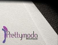 Prettymoda Logo Design
