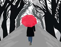Digital Illustration - Walk in the park