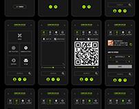 UI UX // MOBILE APP + LOGO // DESIGN