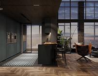 Kitchen   Sunshine Apartmentby K-Render Studio