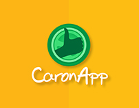 Logo e Identidade visual para o aplicativo CaronApp