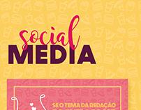 social media Mundo dos sabores