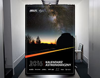 Astronomy Calendar 2016 for Delta Optical
