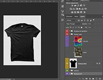 T-Shirt PSD Mockup (Front)