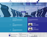 CSS INVESTMENT Homepage Design