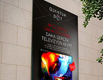 Logo and concept design for Arçelik Quantum Dot TV