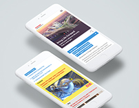 Toshiba Smart Community Site ReDesign Concept