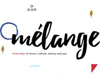 Melange - Event Website