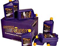 Royal Purple Motor Oil labels