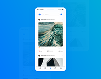 Daily UI 06 - Feed UI Design