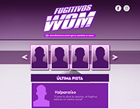 Fugitivos WOM - Landing Page