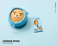 HOODIE RYAN x THEFACESHOP collaboration