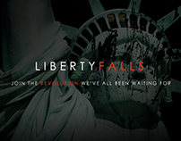 Liberty Falls Art Concept and Web Design/Dev