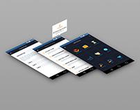 Mobile App UI Design for HR Policies