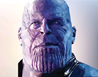 "Thanos ""the mad titan"""