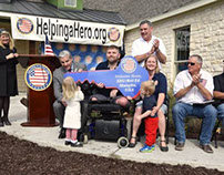 Another veteran receives a new home