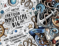 Nautical Cartoon Vector Pack