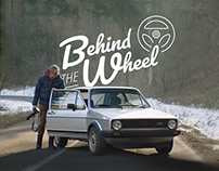 "Volkswagen Belgium / ""Behind the Wheel"" Logo"