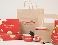 Marcello's Branding & Packaging