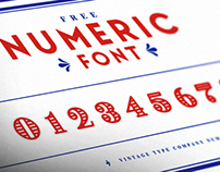 VTC Display Numbers [FREE Font]