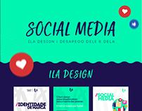 Social Media | ILA Design & Desapego Dele e Dela