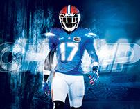 2017 Florida Gators Football Poster