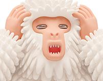 Movistar+: The 3 Mystic Apes 🙈🙉🙊