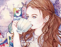 TEA TIME | WATERCOLOUR