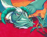 Chrysandra and the Dragon