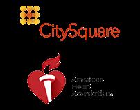CitySquare x American Heart Assocation