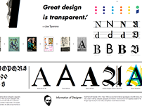 Transparent_Typeface specimen and experiments