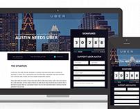 Uber Petition Platform