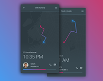 Daily UI #020 - Location Tracker - free Sketch source