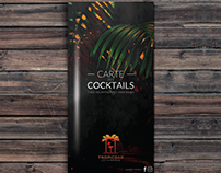 TROPICBAR : COCKTAIL MENU