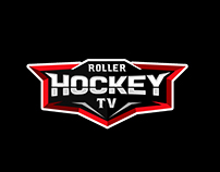 Roller Hockey TV Logo Design