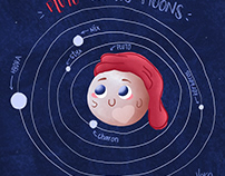 book concept - The Story of Pluto