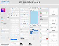 Top iOS 11 UI Kit for iPhone X