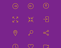 Editable Simple Line Icons Freebie PSD Ai EPS SVG