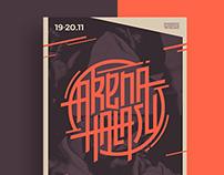 Arena Hałasu | hip hop festival branding