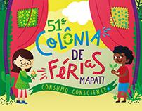 51ª Colônia de Férias Mapati