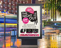 The Night Out - Flyer