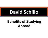 David Schillo: Benefits of Studying Abroad