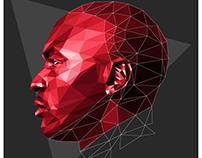 NBA Stars & Legends In Low-Poly Art