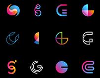 Letterings, Logos & Typography